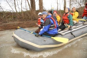 Nooksack bald Eagle - raft adventure